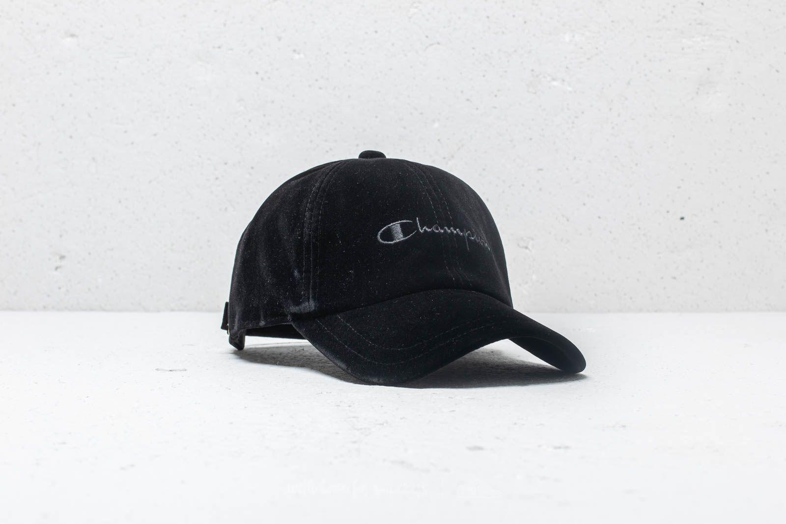 7b575e50f78 Champion Cap Black