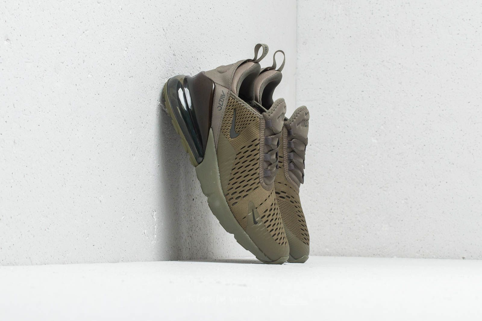 separation shoes 96828 cb2c1 Nike Air Max 270 (GS). Medium Olive  Newsprint