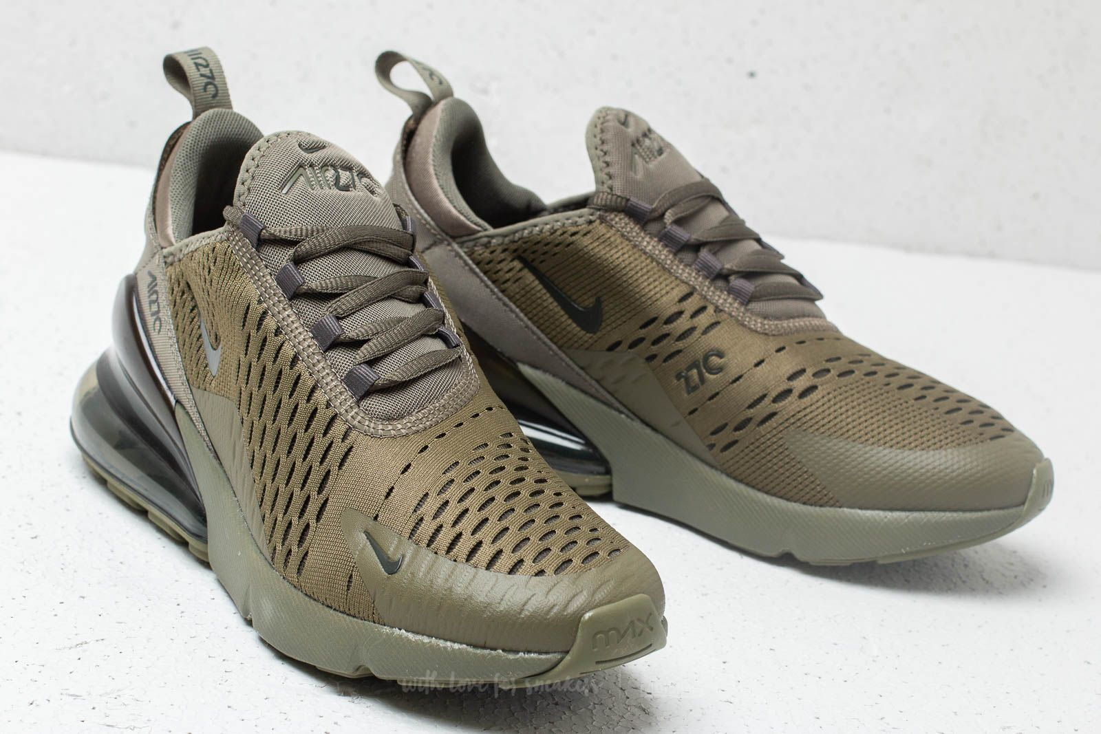 newest 2cac3 40b97 ... netherlands nike air max 270 gs medium olive newsprint at a great price  121 9711a 8f068