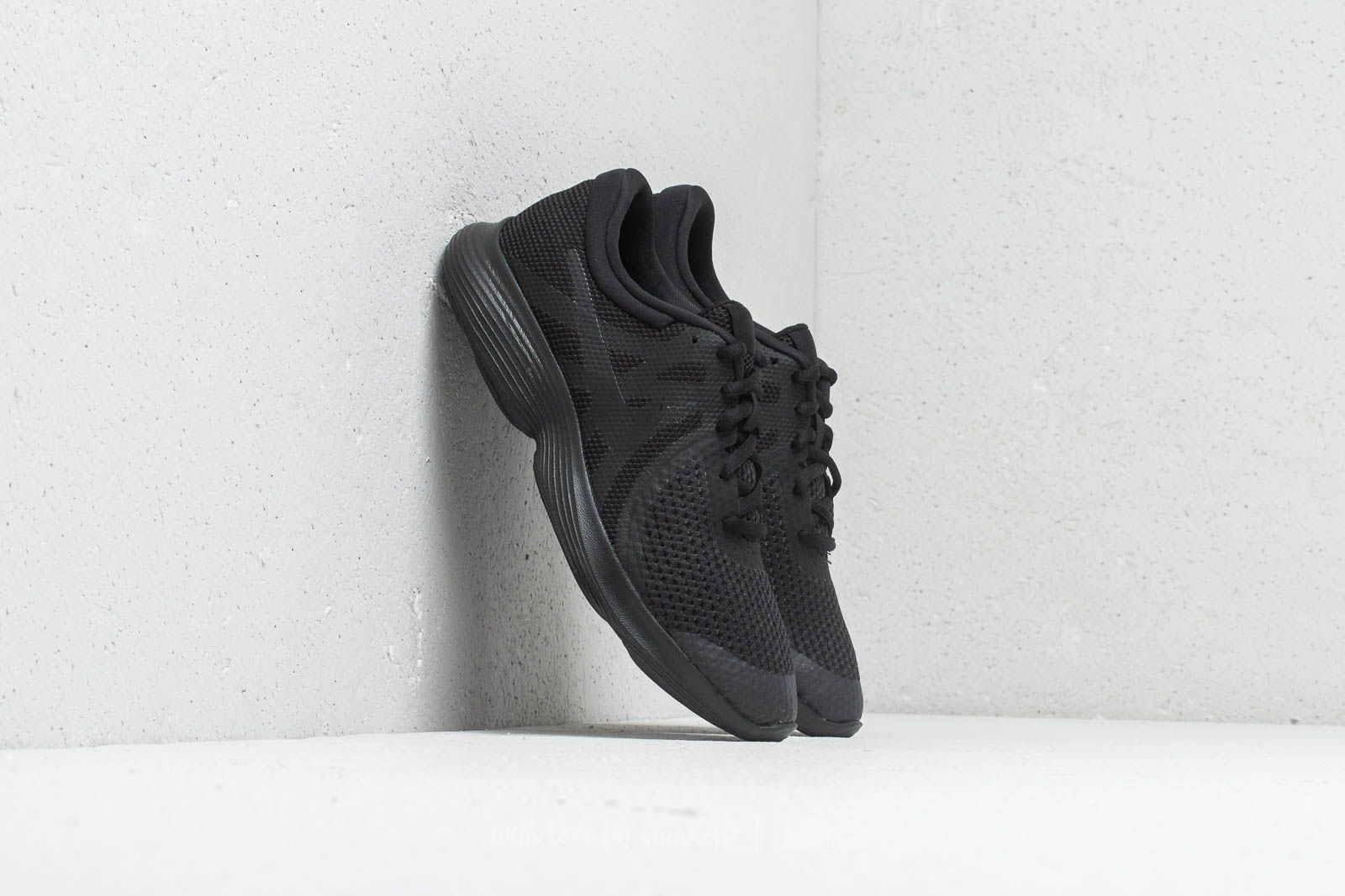 d4ab8cdceabe Nike Revolution 4 (GS) Black  Black