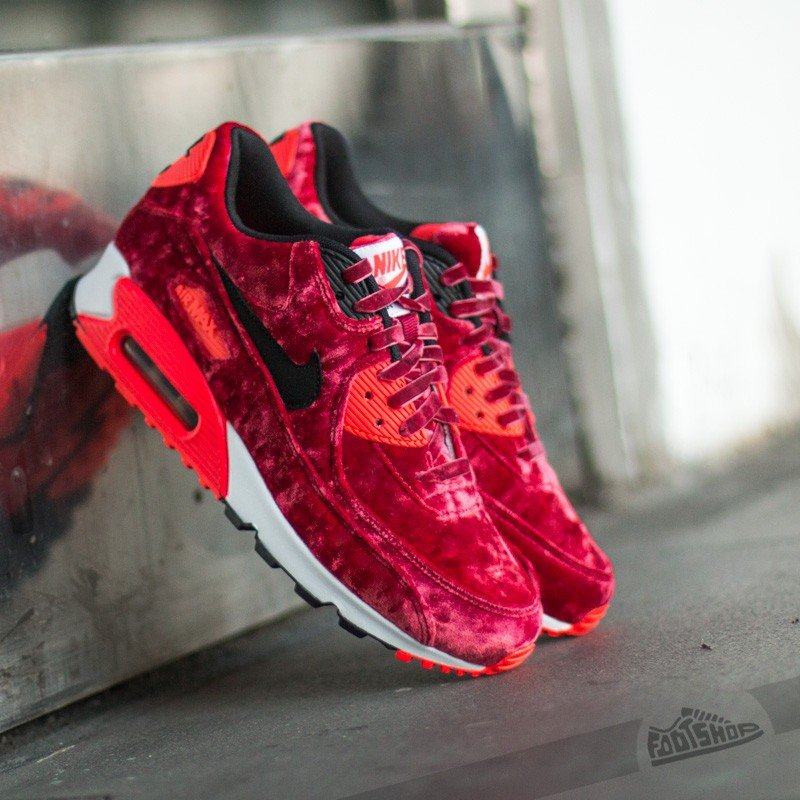 Nike W Air Max 90 Anniversary Gym Red Black Infrared Mttlc Gld 586fc0b888