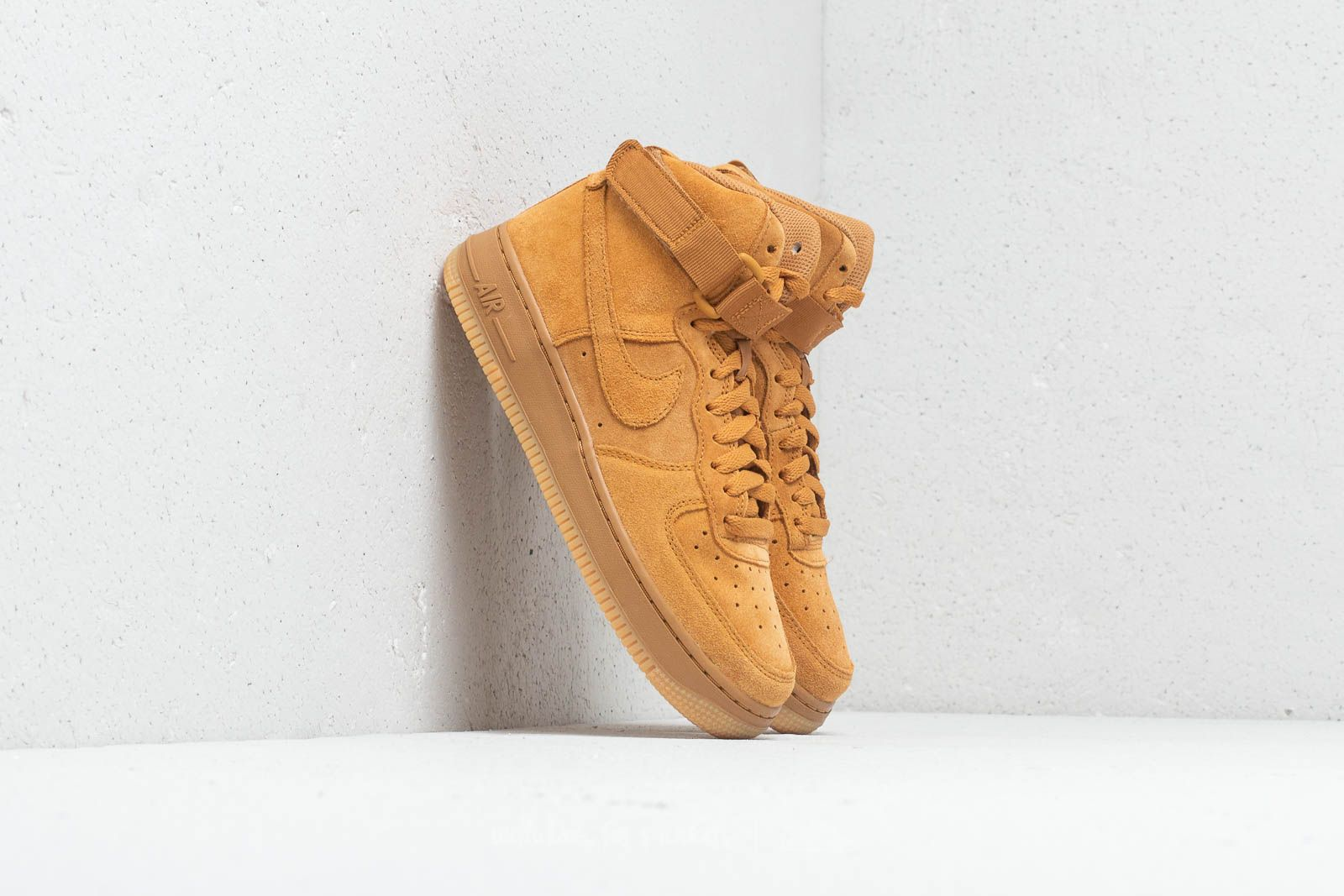 Nike Air Force 1 High LV8 (GS) Wheat Wheat Gum Light Brown | Footshop