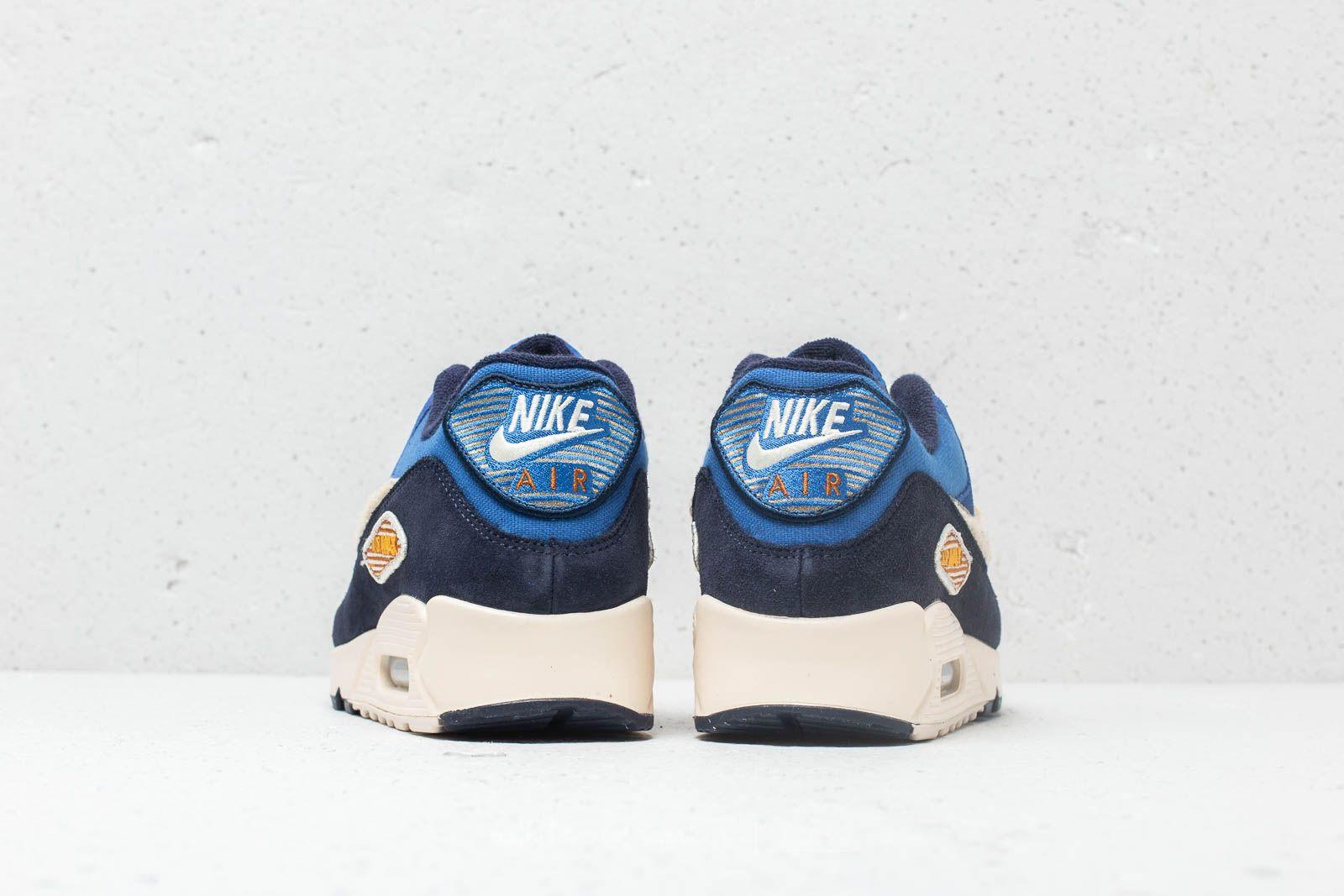 Nike Air Max 90 Premium SE Game Royal Light Cream | Footshop