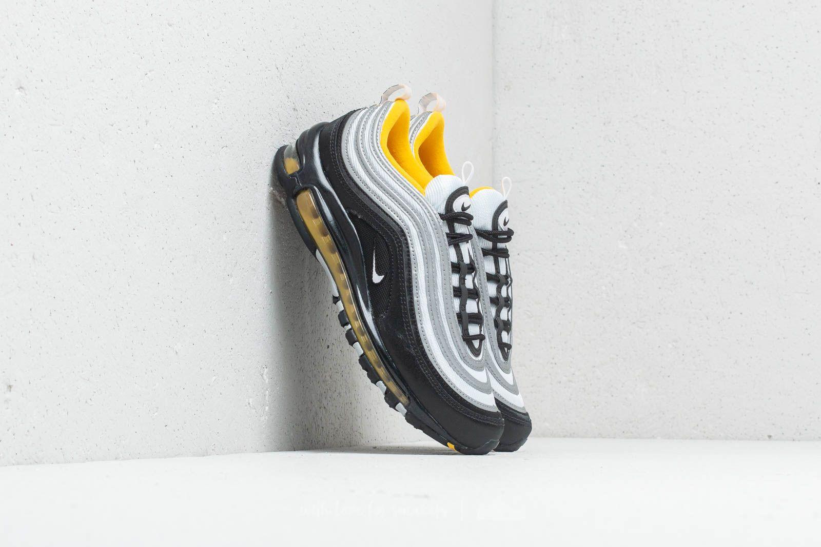 Publicidad sólido Poderoso  Men's shoes Nike Air Max 97 Black/ White-Amarillo | Footshop