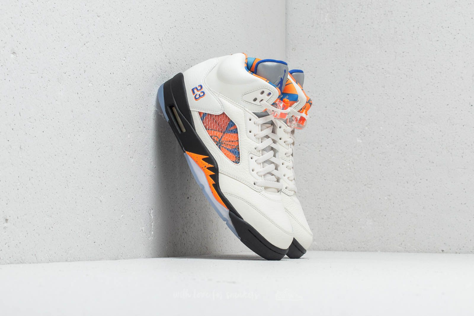 buy online 9469e a54d7 Air Jordan 5 Retro. Sail  Racer Blue-Cone-Black