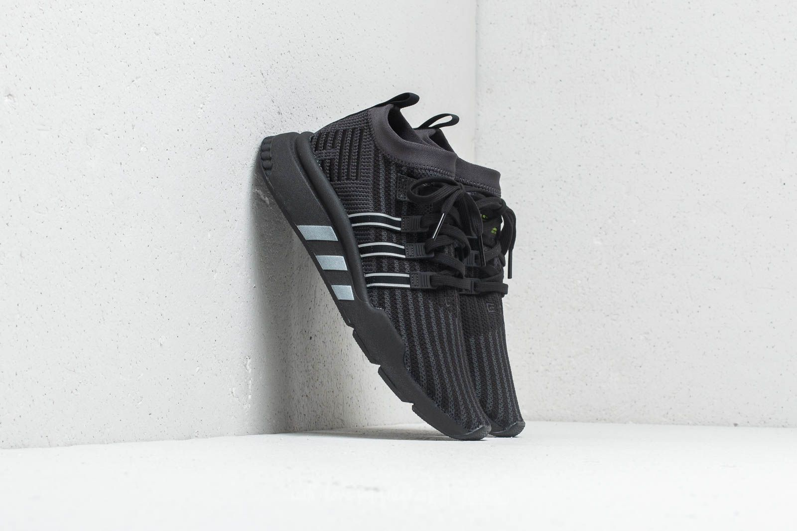 competitive price 2e9b4 cb0a1 adidas EQT Support MID ADV Primeknit Core Black  Carbon  Solar Yellow a muy  buen