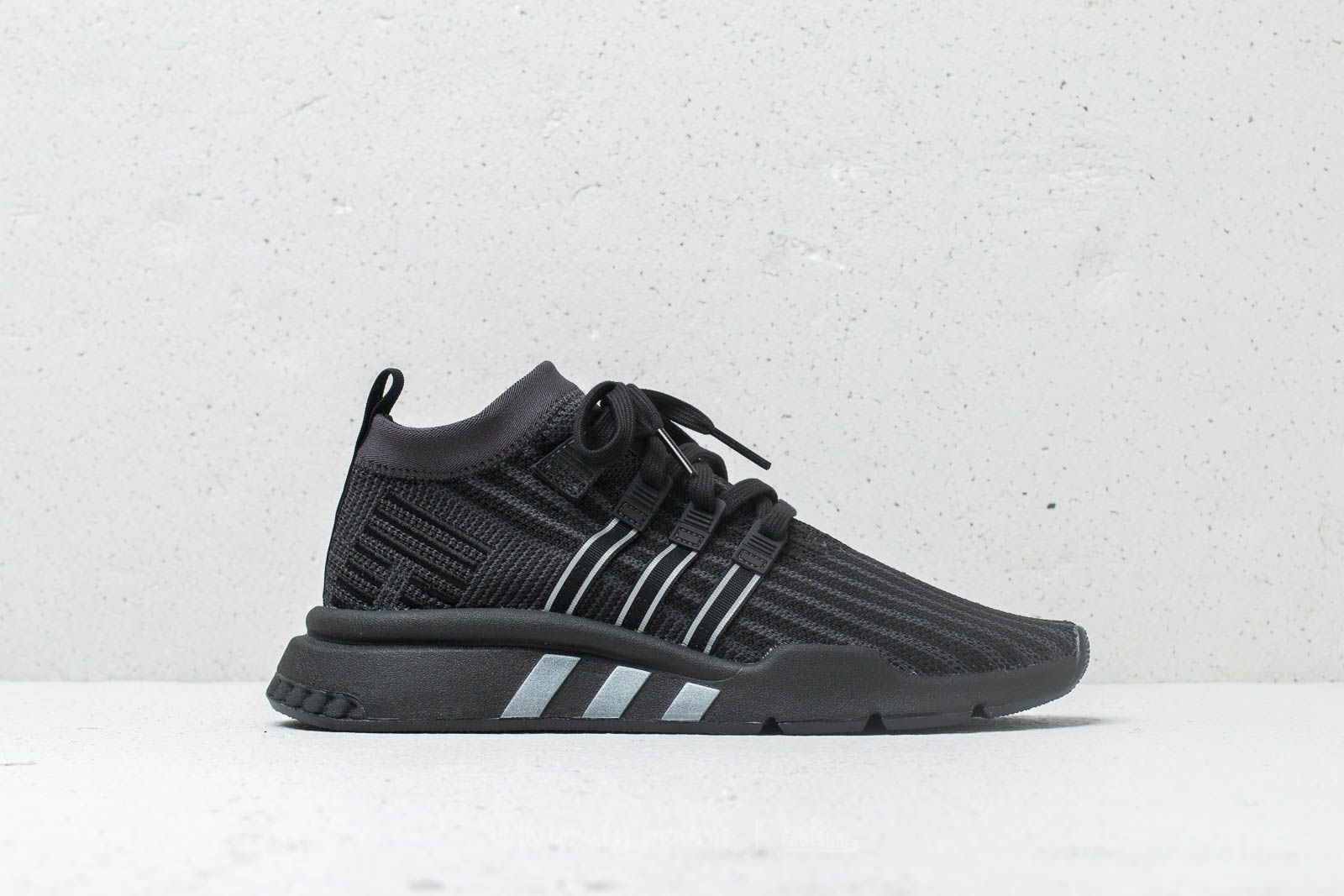 97c757f19bd adidas EQT Support MID ADV Primeknit Core Black  Carbon  Solar Yellow at a  great