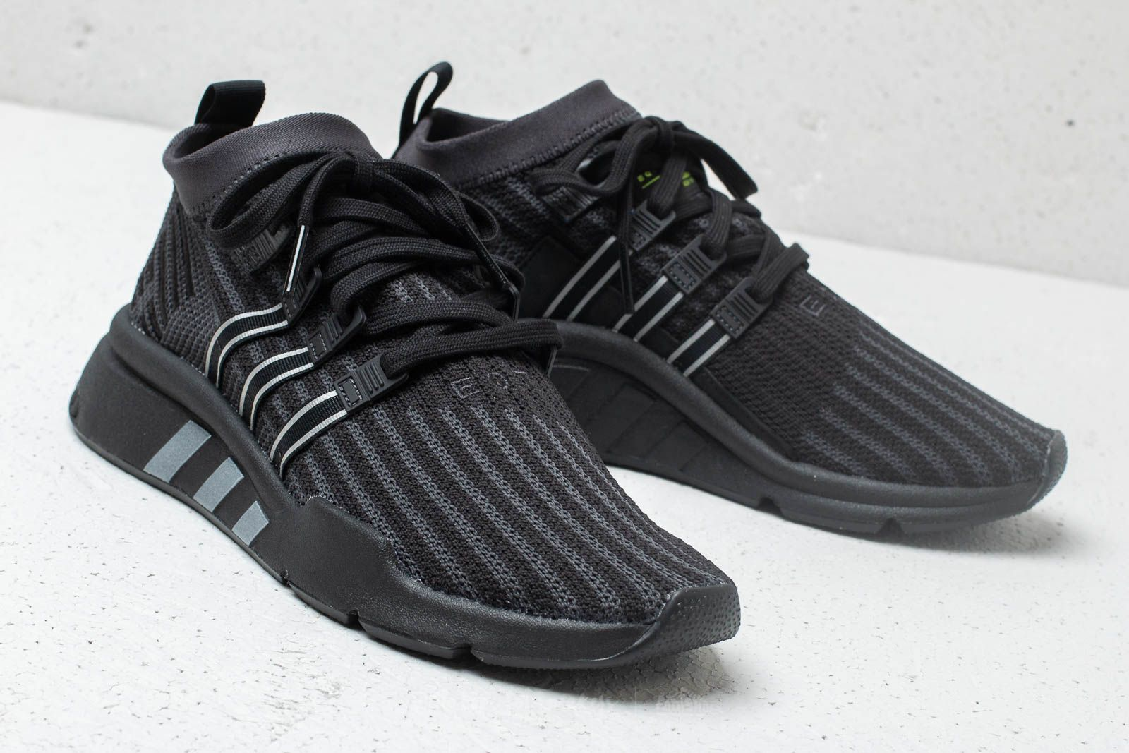 adidas EQT Support MID ADV Primeknit Core Black  Carbon  Solar Yellow at a  great 149ef72ae9