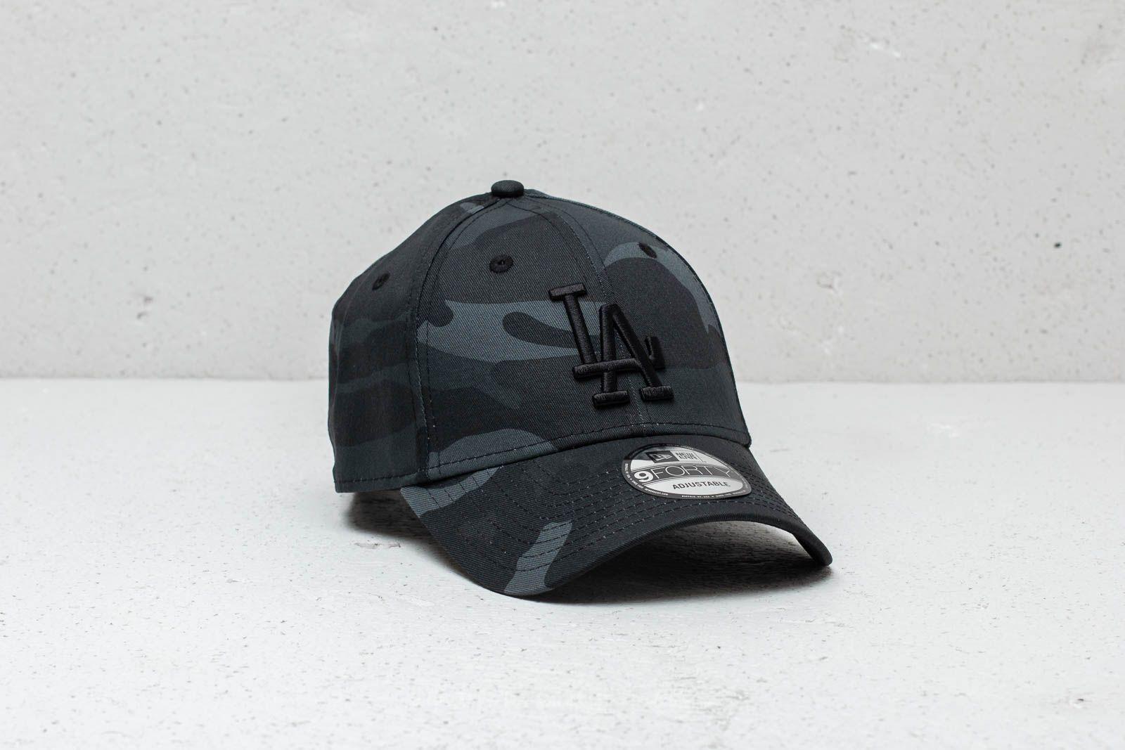 New Era 9Forty MLB Los Angeles Dodgers Cap Black Camo  83f0e057146