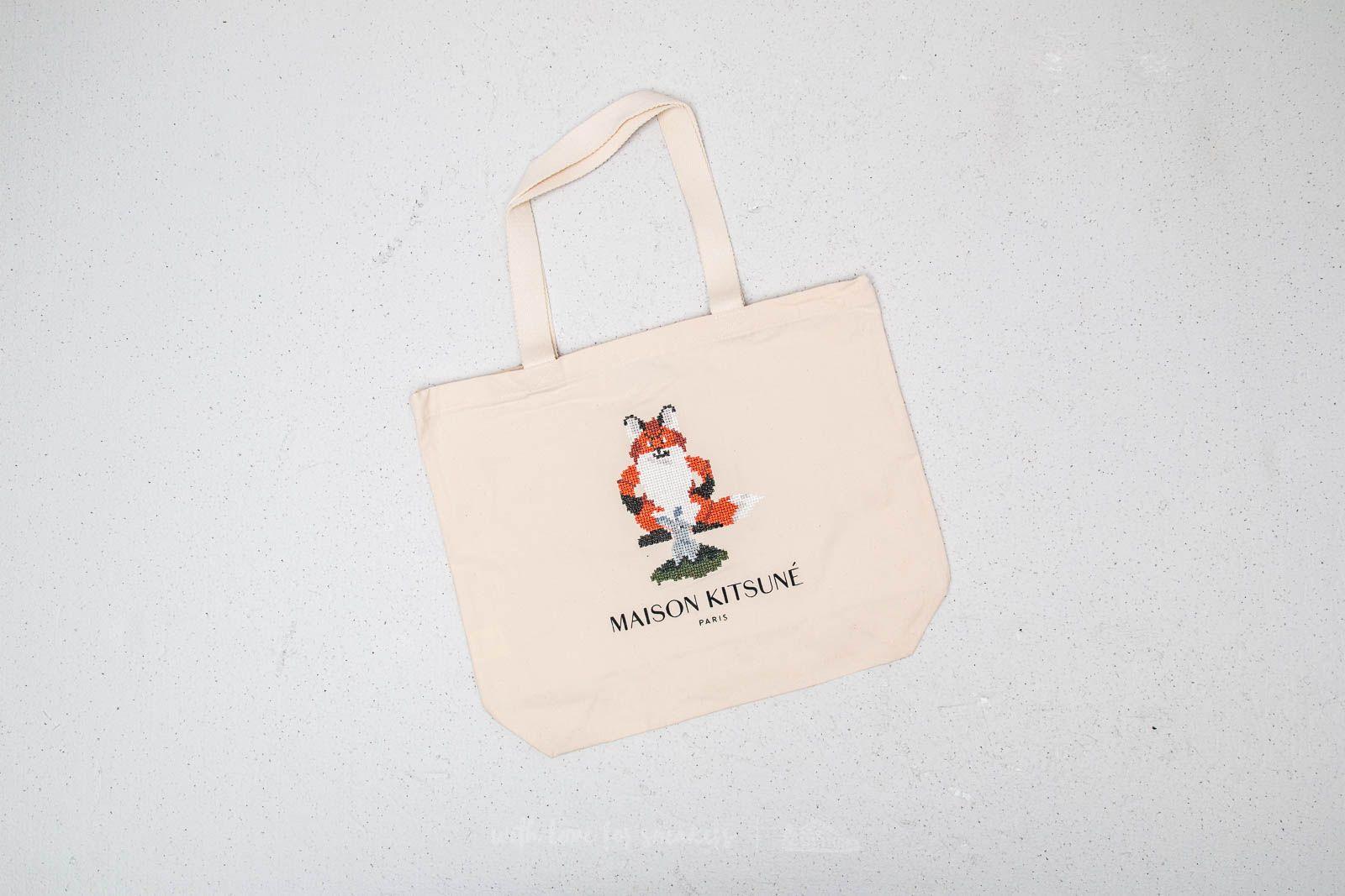 MAISON KITSUNÉ Pixel Tote Bag