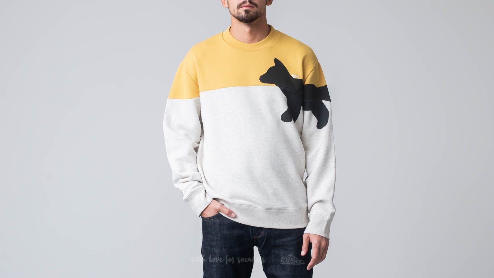 MAISON KITSUNÉ Walking Fox Sweatshirt