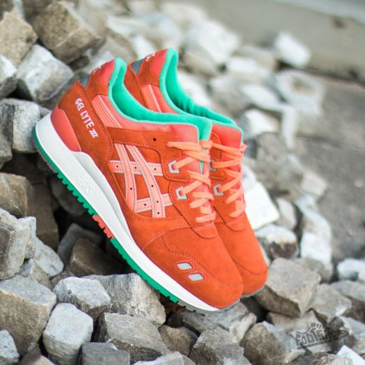Asesino forma ceja  Men's shoes Asics Gel Lyte III Fresh Salmon