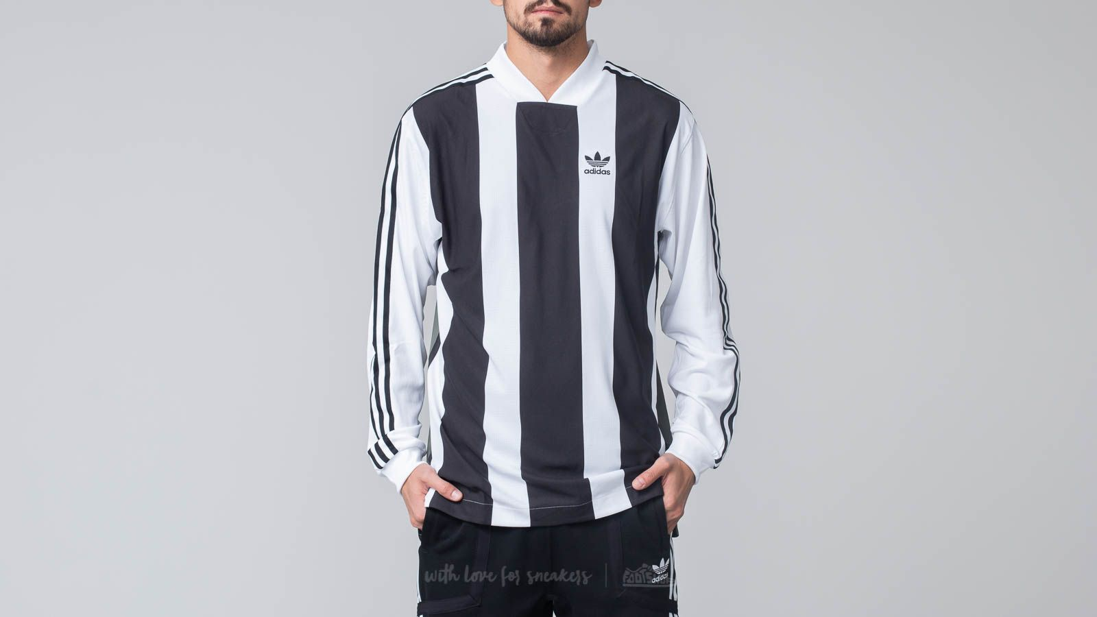 adidas B Side Long Sleeve Jersey 2