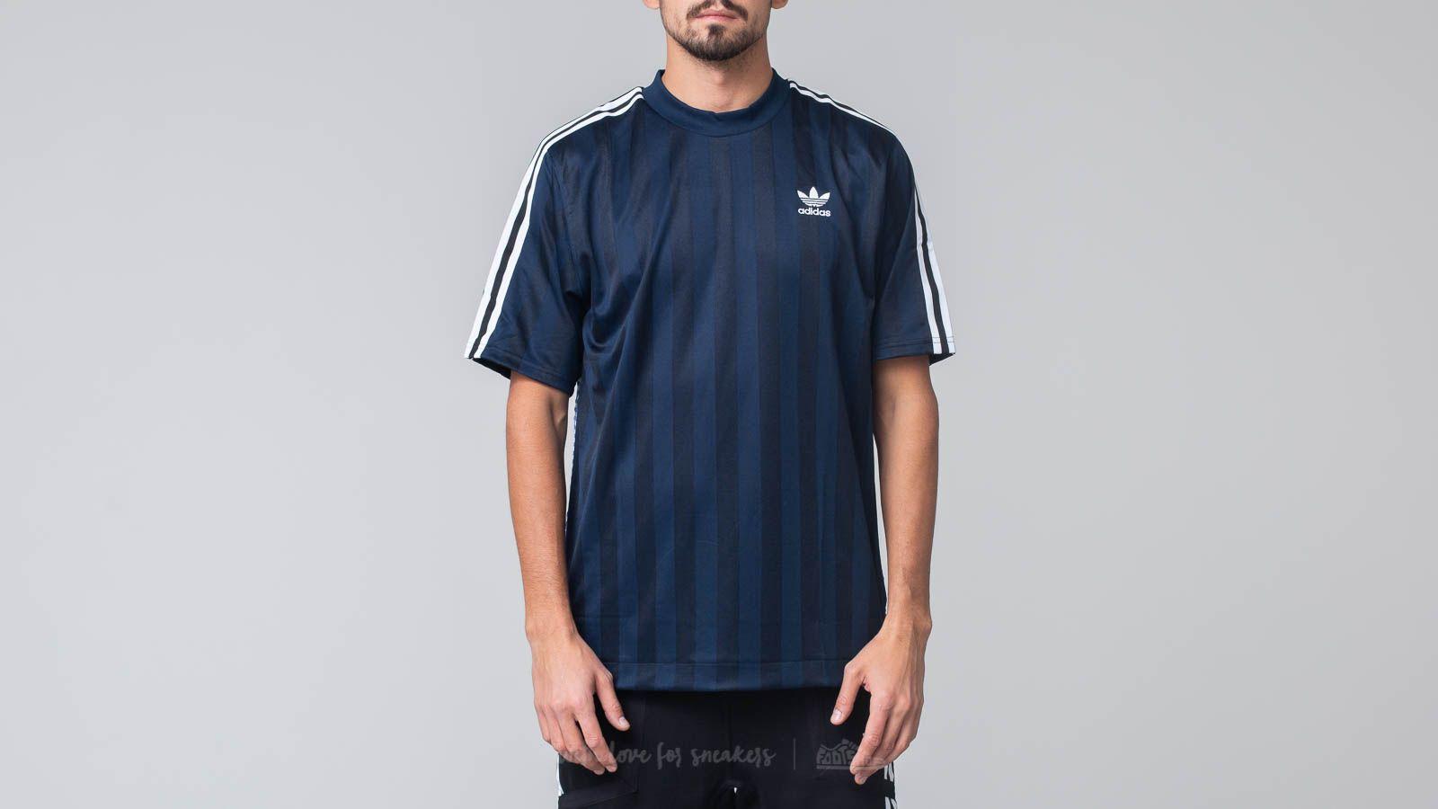 T-shirts adidas B Side Jersey 1 Collegiate Navy