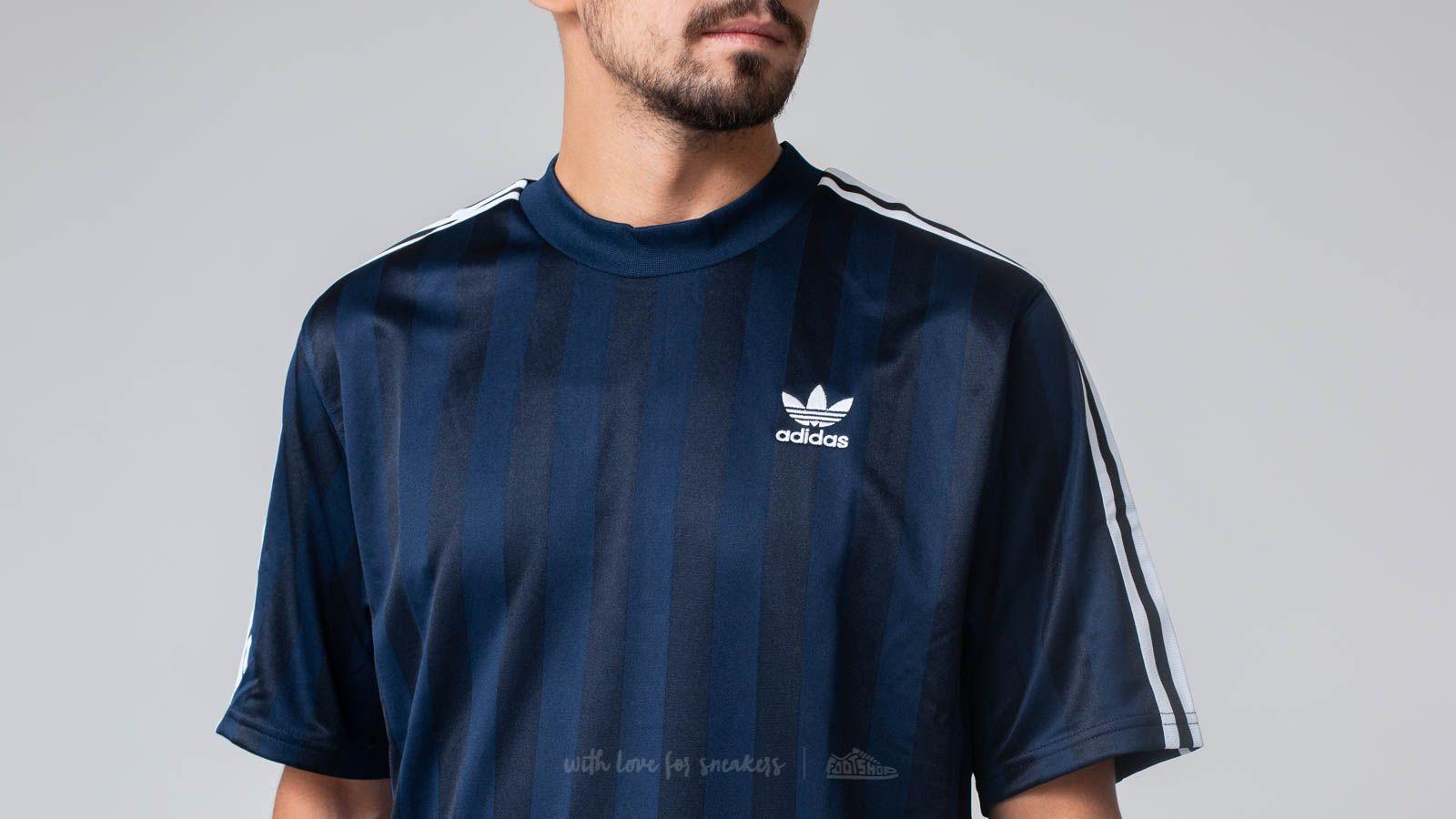 jugador Limo Criatura  T-shirts adidas B Side Jersey 1 Collegiate Navy | Footshop