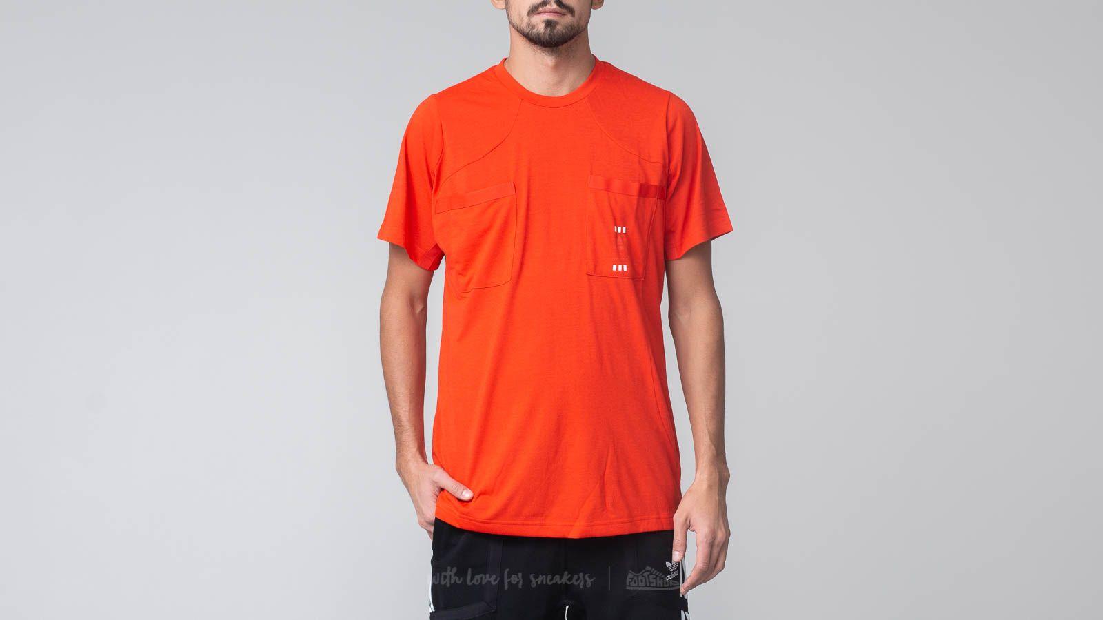 adidas Oyster Holding 72-Hour Shortsleeve Tee Red za skvělou cenu 1 090 Kč koupíte na Footshop.cz