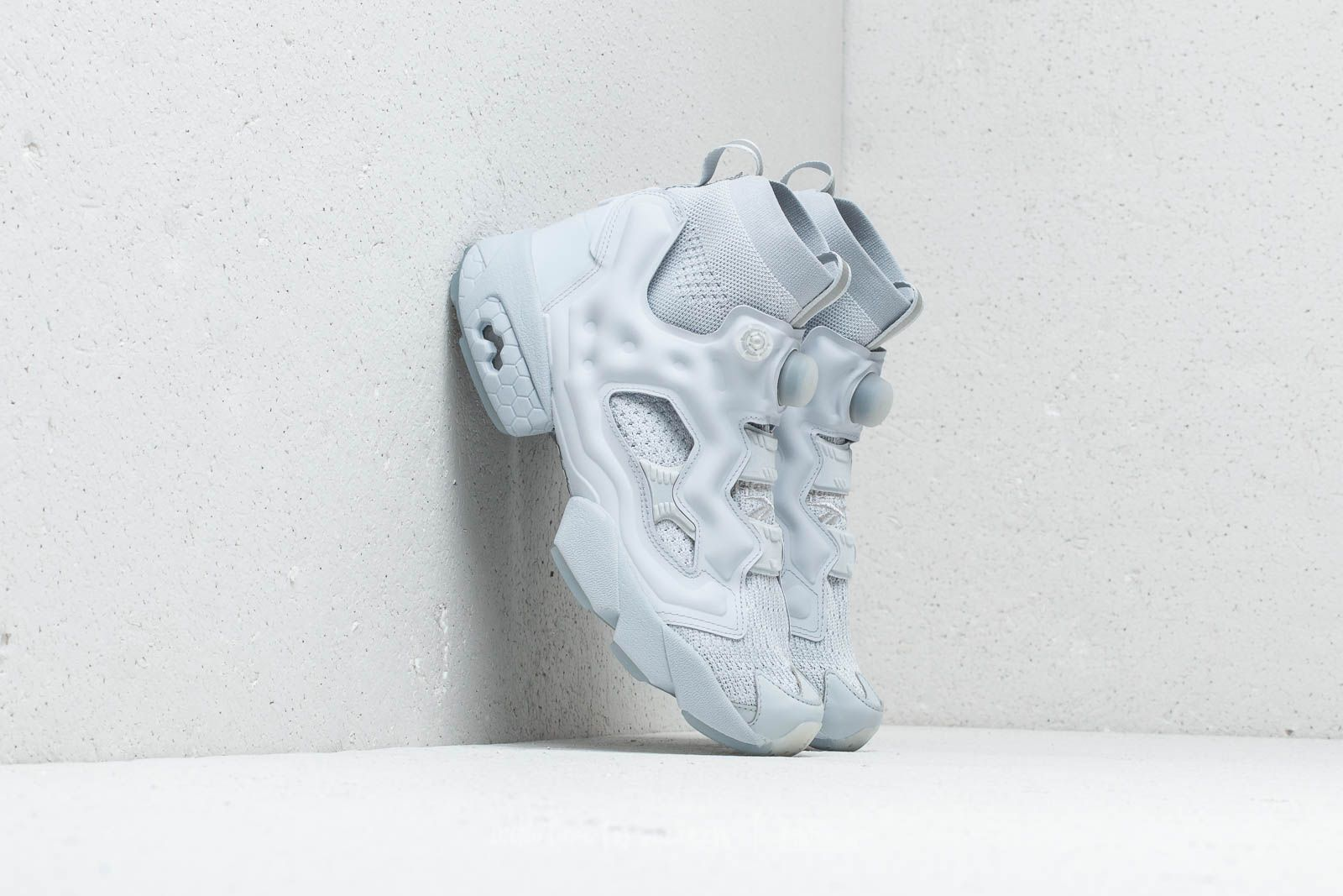 Reebok Instapump Fury OG Ultraknit Cloud Grey Digital Green | Footshop