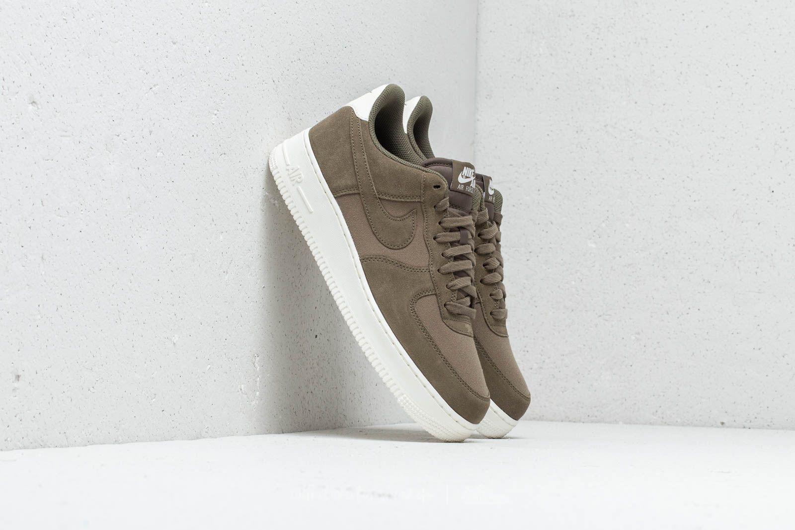 meet 87421 5a948 Nike Air Force 1  07 Suede. Medium Olive  Medium Olive-Sail