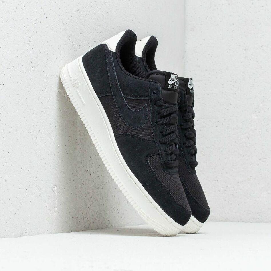 Nike Air Force 1 `07 Suede Black/ Black-Sail EUR 47