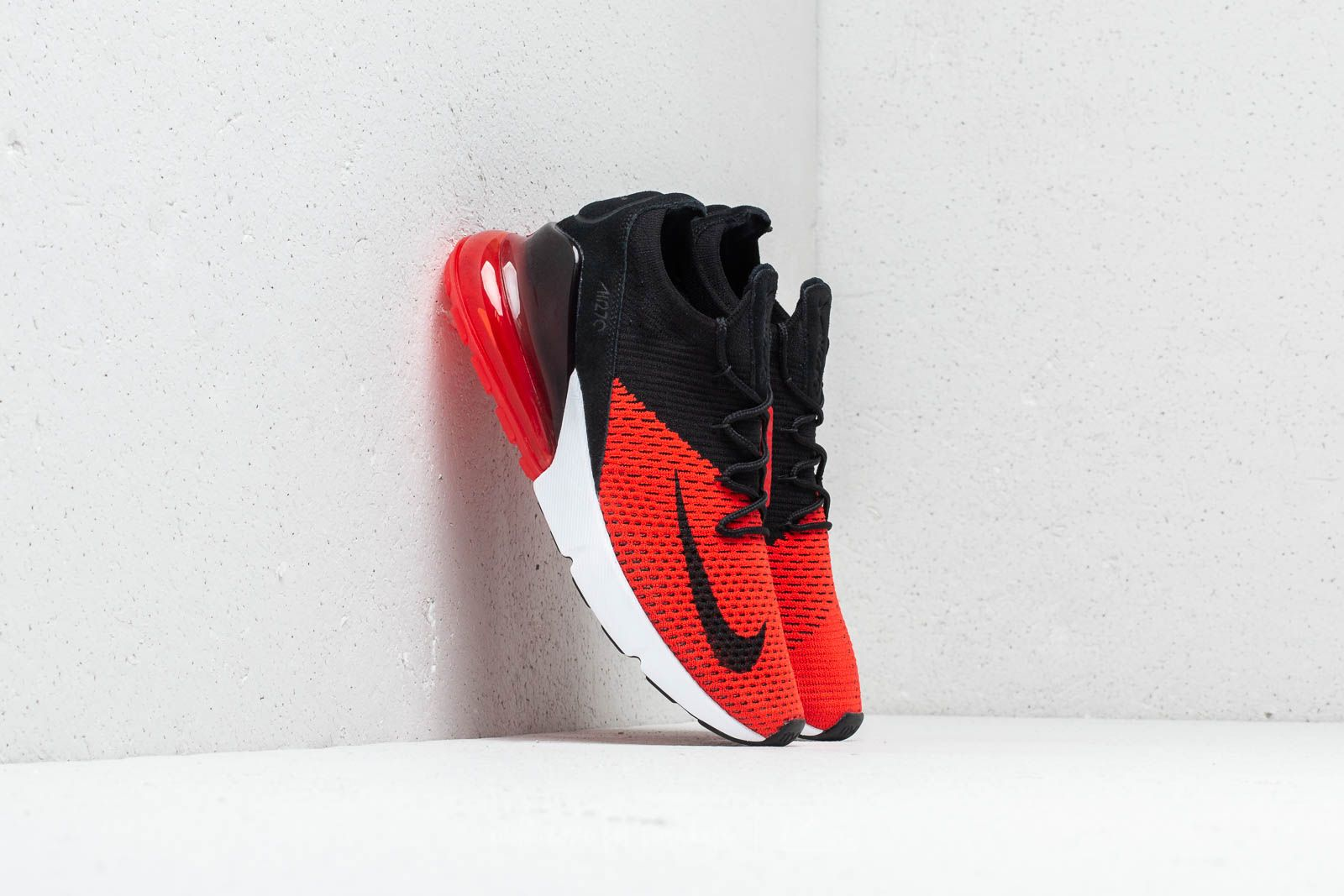 a5c39ba822b6b Nike Air Max 270 Flyknit Chile Red  Black-Challenge Red