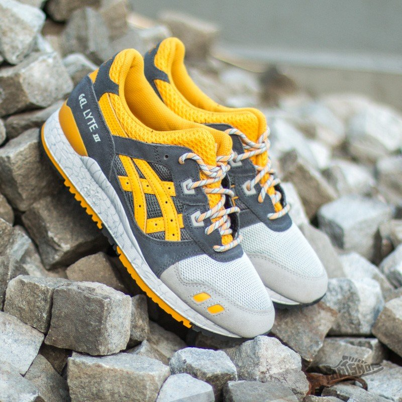 fee8c64cb4276 Asics Gel Lyte III Grey Gold Fusion