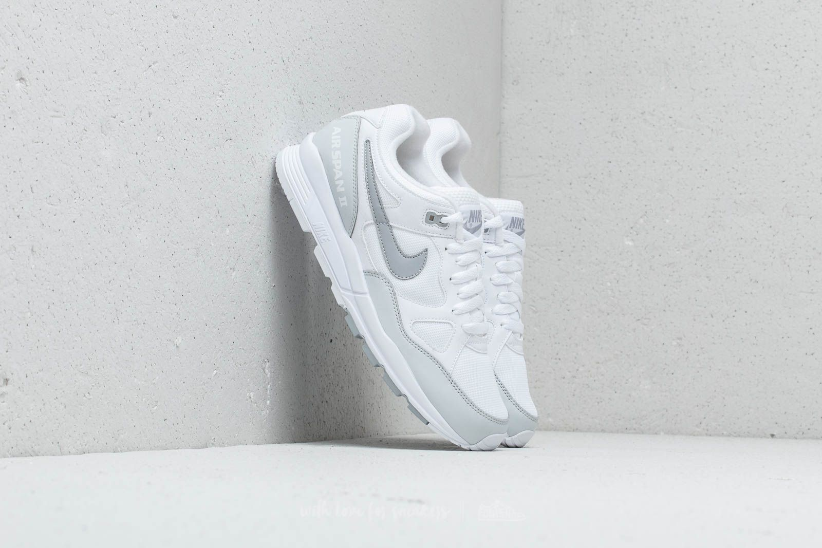 Nike Air Span II White/ Wolf Grey-Pure Platinum