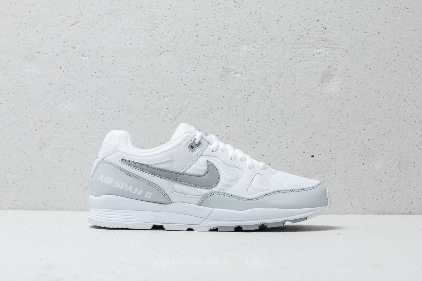 innovative design df8fb 28d99 Nike Air Span Ii White/ Wolf Grey-Pure Platinum at a great price £