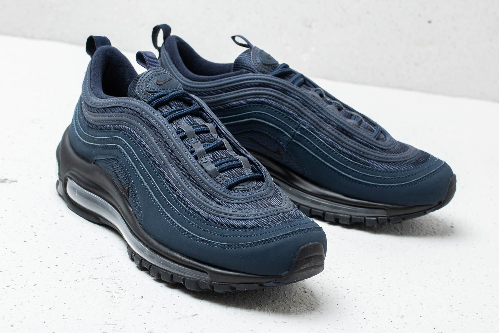 Nike Air Max 97 (GS) Obsidian  Black-Midnight Navy at a great a31395349a