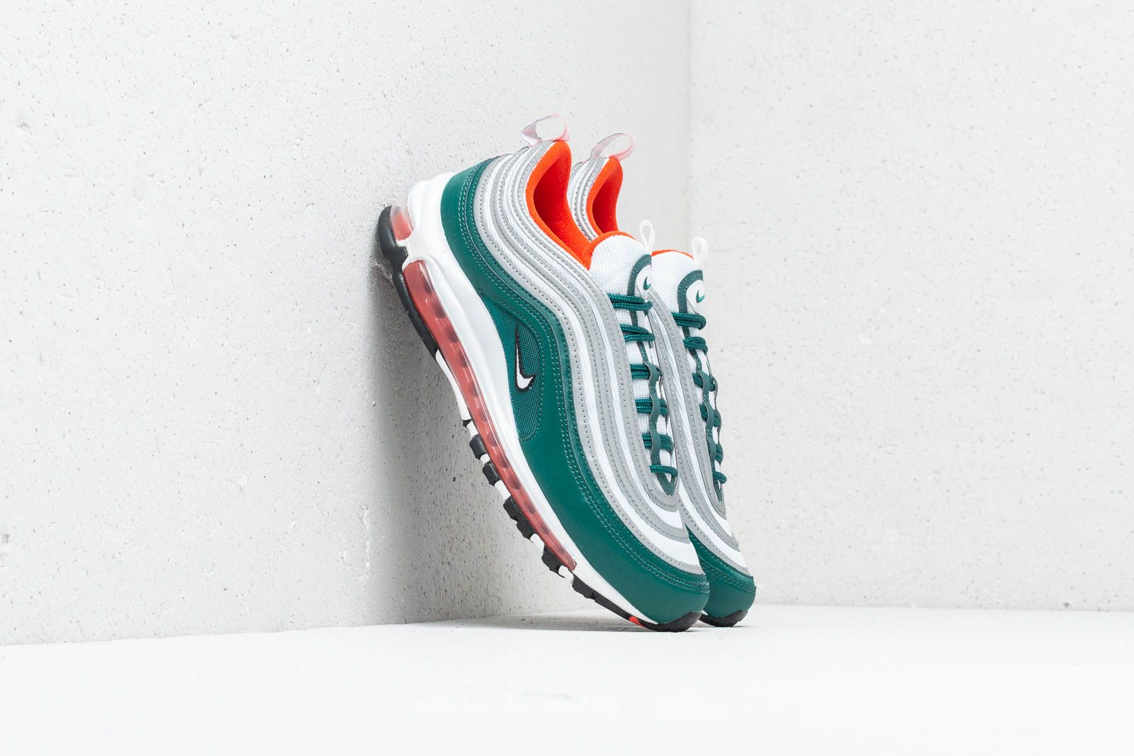 hot sale online 8ad52 43377 Nike Air Max 97. Rainforest  White-Orange