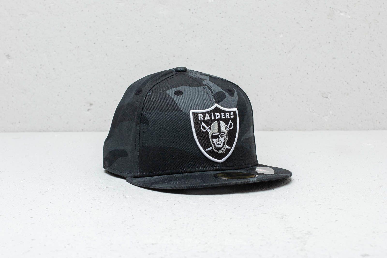 e9b9bfd06 New Era 59Fifty NFL Oakland Raiders Cap Black Camo | Footshop