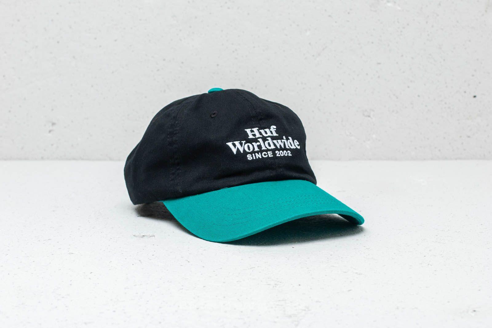 2e1ff5146389b HUF Worldwide CV 6 Panel Cap Black