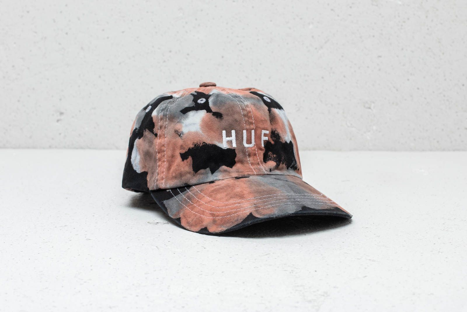 HUF Spot Dyed 6 Panel Cap Black at a great price 27 € buy at Footshop 1a210d650c6d