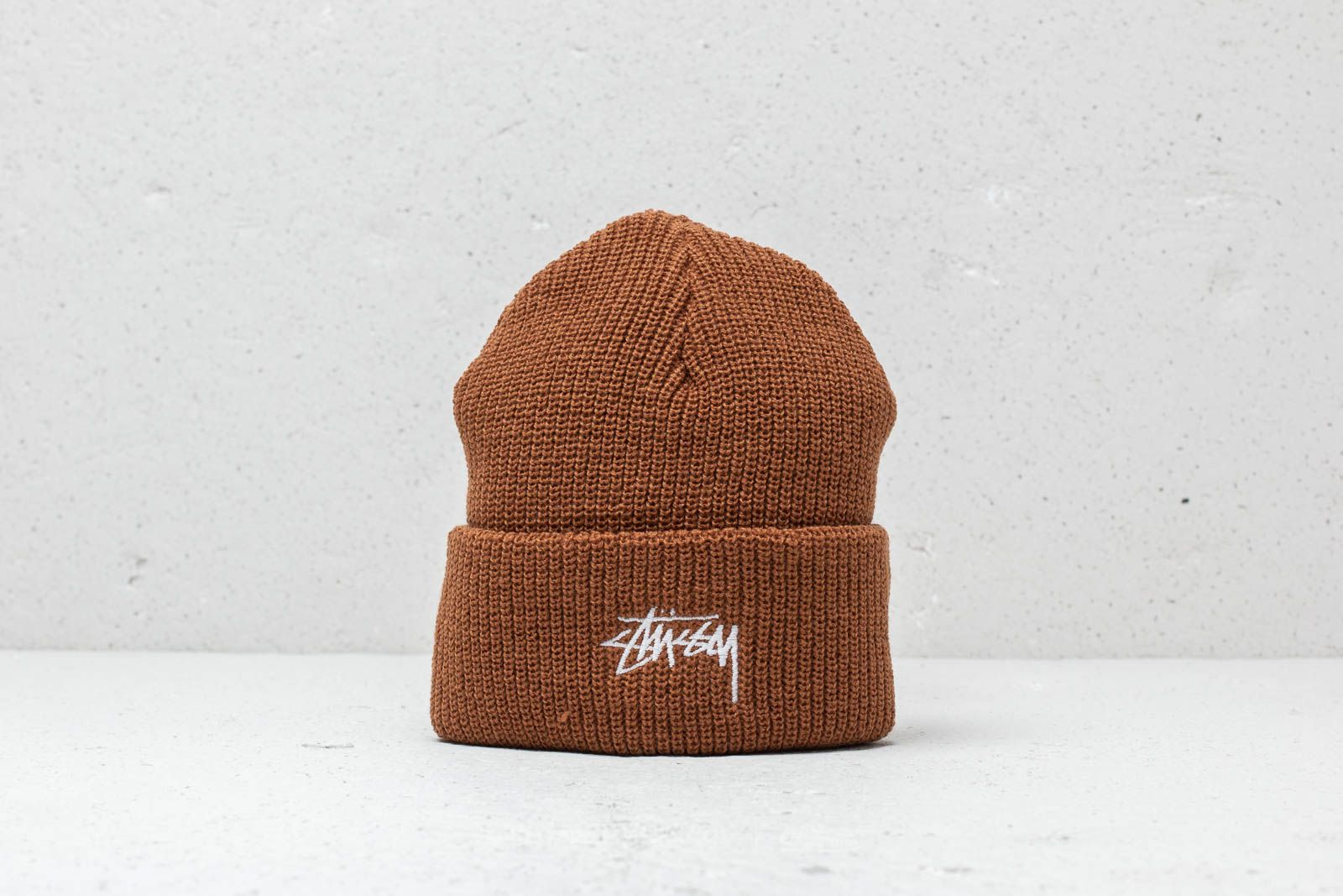 Stüssy Stock Fa18 Cuff Beanie Copper at a great price 22 € buy at Footshop eccd8905e58