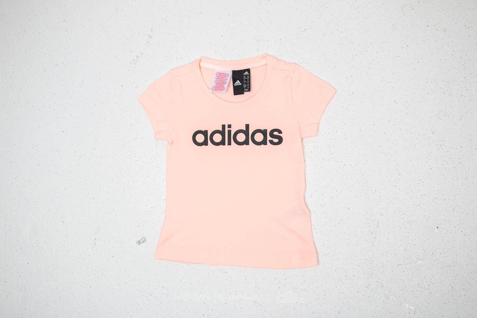 adidas Essentials Linear Tee Pink za skvělou cenu 279 Kč koupíte na Footshop.cz