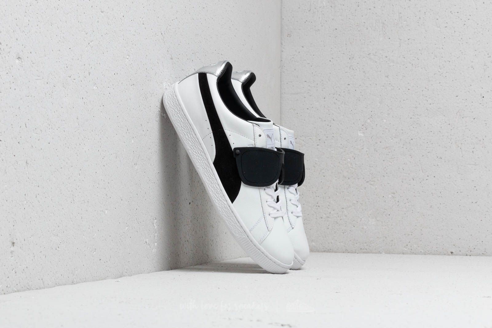 outlet store 01bf5 dbca8 Puma Suede Classic x Karl Lagerfeld Puma White  Puma Black at a great price  99