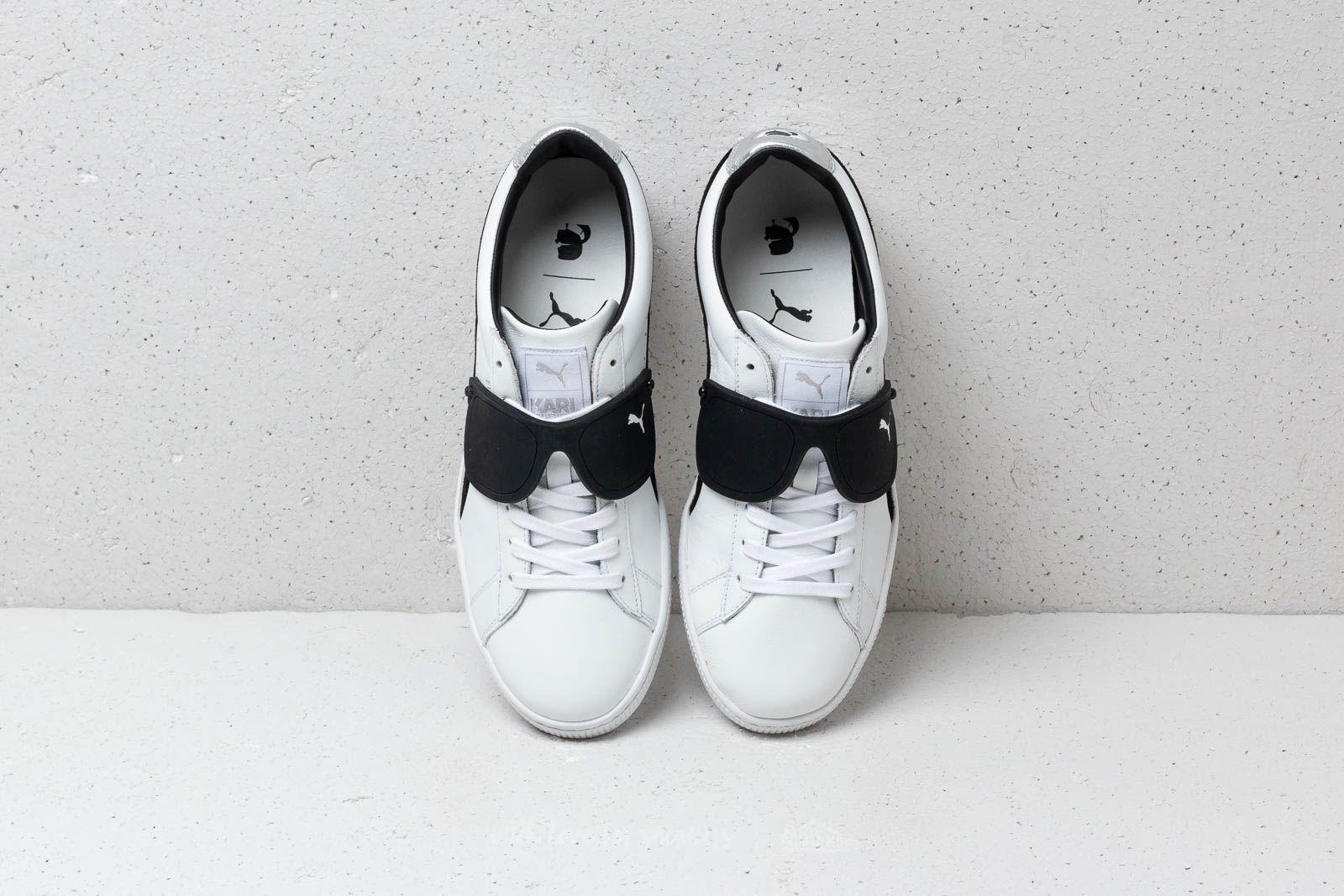 BlackFootshop Suede Karl Puma Lagerfeld X Classic White 0mnN8w