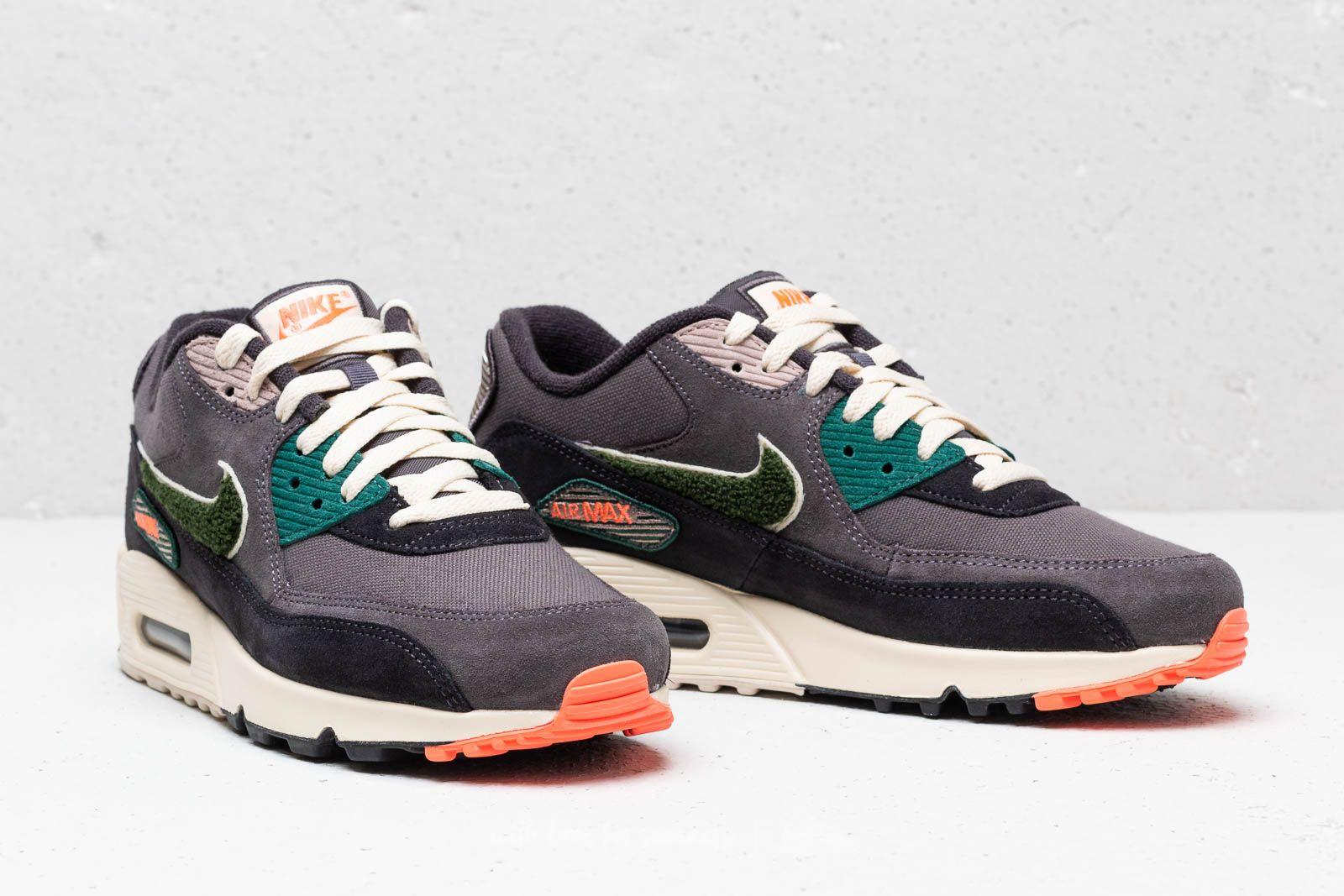 separation shoes b69ef ecce4 Nike Air Max 90 Premium SE Oli Grez/ Rainforest | Footshop