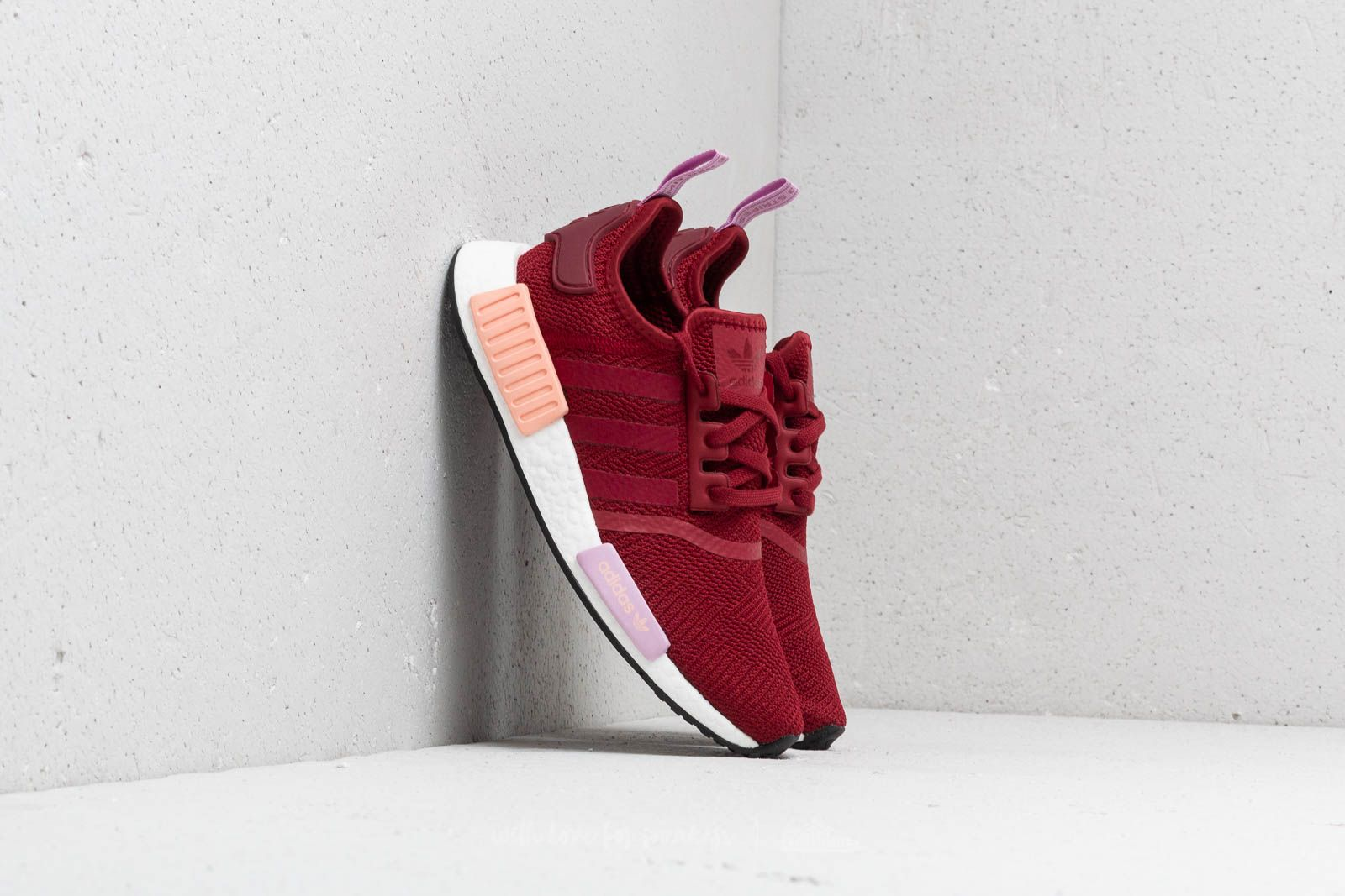 c403d6c926054 adidas NMD R1 W Collegiate Burgundy  Collegiate Burgundy  Clear Orange at a  great price 139