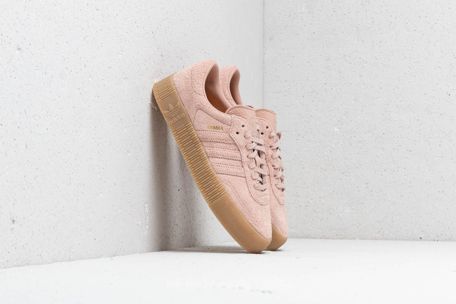 official photos 93c70 45dd2 adidas Sambarose W Ash Pearl  Ash Pearl  Gum 4 at a great price £