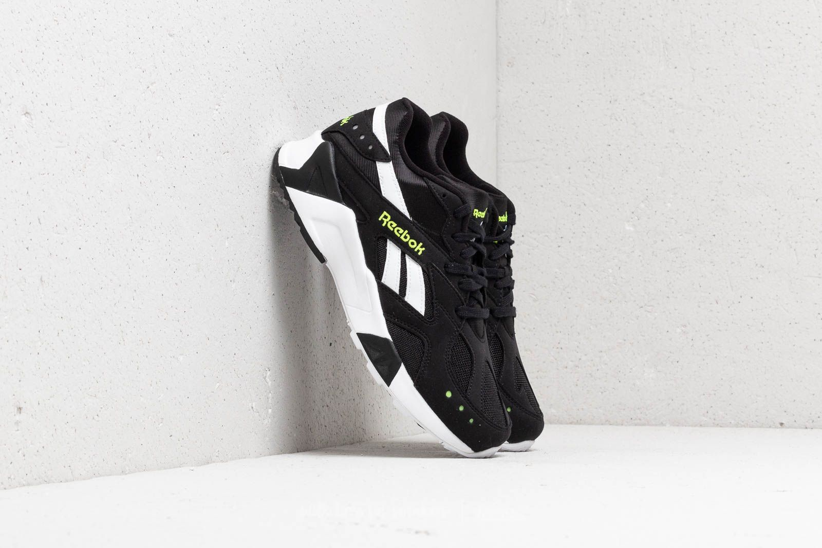 Reebok Aztrek Black/ White/ Solar Yellow