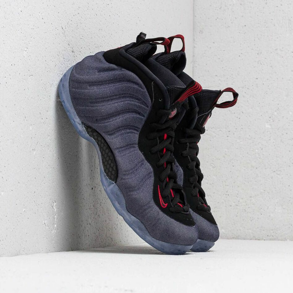 Nike Air Foamposite One Obsidian/ Black-University Red EUR 42