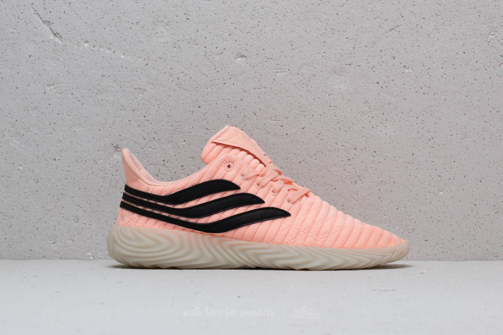a4836494cd8 adidas Sobakov Clear Orange  Core Black  Crystal White at a great price £58