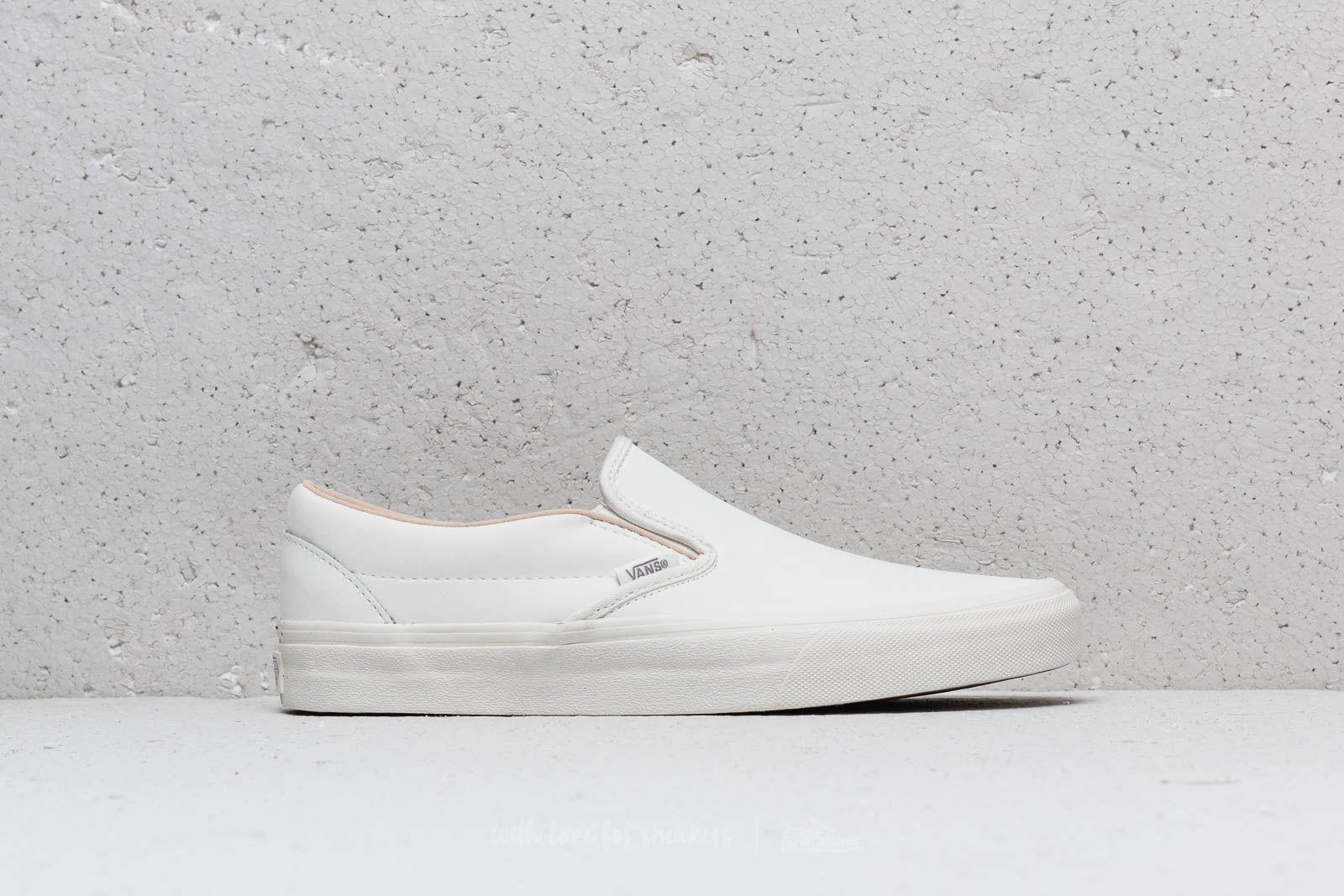 Vans Classic Slip On (Vansbuck) Blanc de Blanc | Footshop