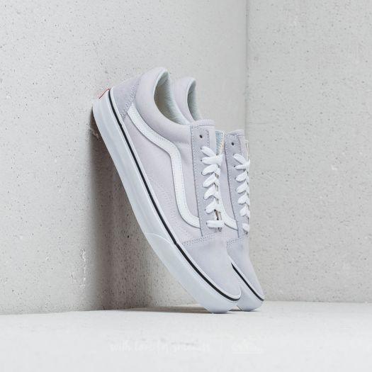 shoes Vans Old Skool Gray Dawn/ True White