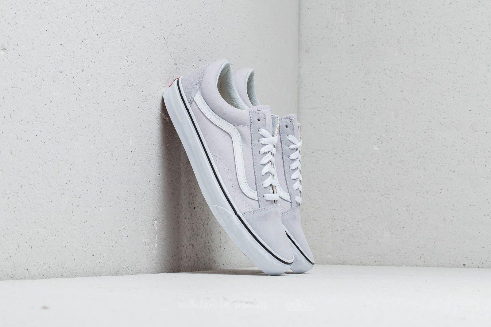 Checkerboard Gray Dawn & True White Womens Slip on Shoes