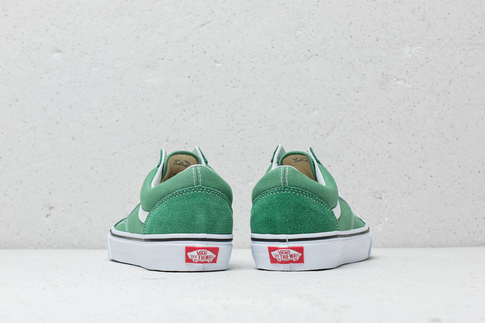 Vans Old Skool Deep Grass Green True White | Footshop