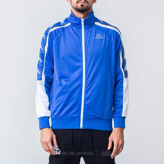 wholesale dealer 1a70a 63bb1 Kappa Banda 10 Ahran Jacket Blue Royal/ White   Footshop