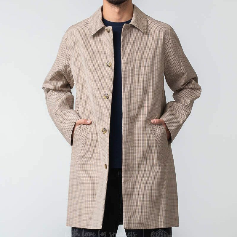 APC Mac Findon Raincoat Beige