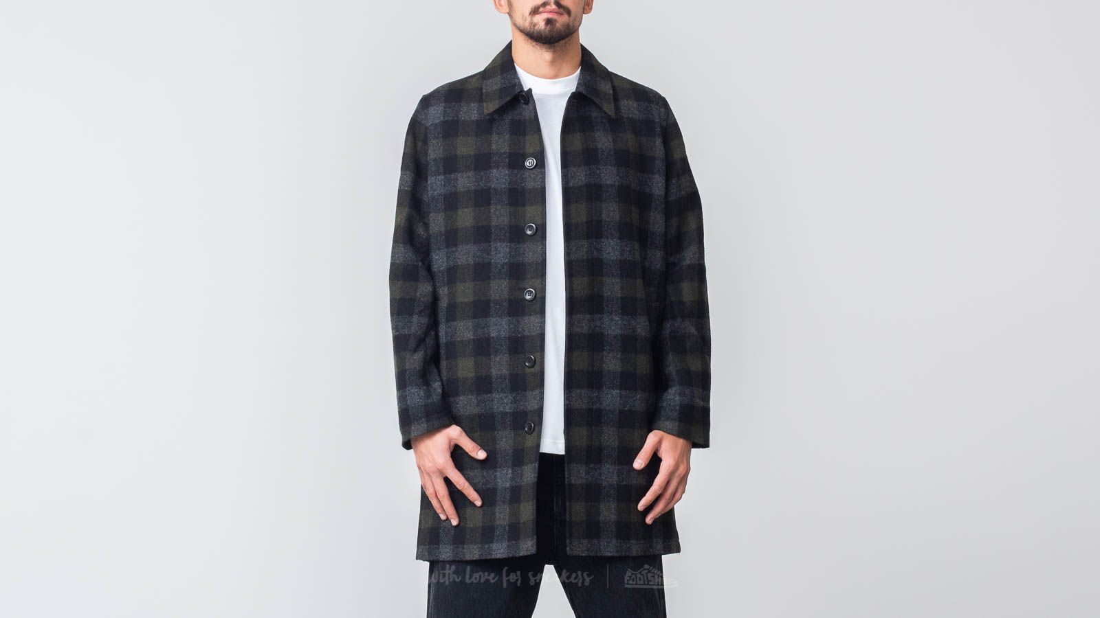 Norse Projects Thor Wool Check Coat