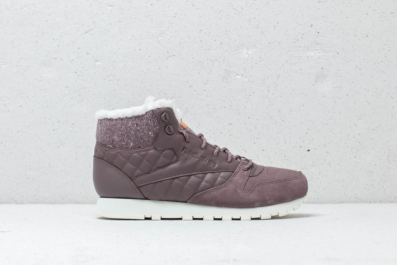 2ac77f04be705 Reebok CL Leather Arctic Boot Almost Grey  Chalk  Camel at a great price 62